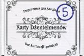 Karty dżentelmenów Epizod piąty -  | mała okładka