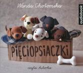 Pięciopsiaczki (Audiobook) - Wanda Chotomska | mała okładka