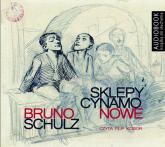 Sklepy cynamonowe (Audiobook) - Bruno Schulz | mała okładka