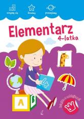 Akademia malucha Elementarz 4-latka -  | mała okładka