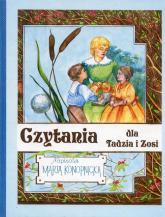 Czytania dla Tadzia i Zosi - Maria Konopnicka | mała okładka
