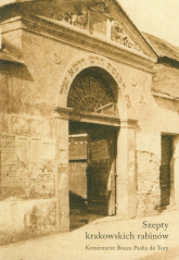 Szepty krakowskich rabinów Komentarze do Tory - Boaz Pash | mała okładka