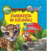 Animal Club Układanka Kolorowanka Zwierzęta w dżungli -  | mała okładka