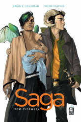 Saga Tom 1 - Vaughan Brian K., Staples Fiona | mała okładka