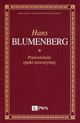 Prawowitość epoki nowożytnej - Hans Blumenberg | mała okładka