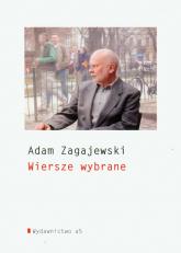 Wiersze wybrane - Adam Zagajewski | mała okładka