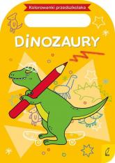 Kolorowanki przedszkolaka Dinozaury -  | mała okładka