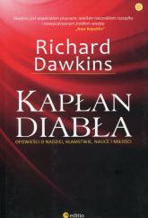 Kapłan diabła Opowieści o nadziei, kłamstwie, nauce i miłości - Richard Dawkins | mała okładka