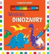 Flamaster wodny Wesołe dinozaury - Urszula Kozłowska | mała okładka