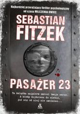 Pasażer 23 - Sebastian Fitzek | mała okładka