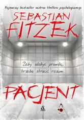 Pacjent - Sebastian Fitzek | mała okładka