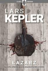 Łazarz  Joona Linna 7 - Lars Kepler | mała okładka