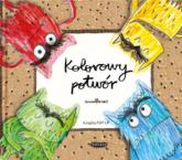 Kolorowy potwór. Książka Pop-up - Anna Llenas   mała okładka
