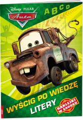 Auta Wyścig po wiedzę Litery/NUG9101 NUG9101 - zbiorowe opracowanie | mała okładka