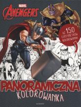 Marvel Avengers Panoramiczna kolorowanka -  | mała okładka