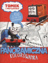 Tomek i przyjaciele Panoramiczna kolorowanka -  | mała okładka