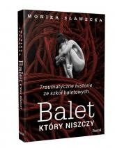 Balet, który niszczy Traumatyczne historie ze szkół baletowych - Monika Sławecka   mała okładka