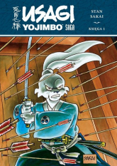 Usagi Yojimbo Saga księga 1 - Stan Sakai | mała okładka