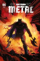 Batman metal Tom 1 Mroczne dni - Snyder Scott, TynionIV James | mała okładka