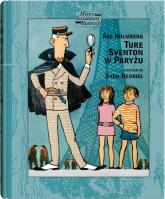 Ture Sventon w Paryżu - Ake Holmberg | mała okładka