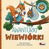 Ach te zwierzaki Awanturki wiewiórki - Katarzyna Vanevska | mała okładka