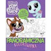 Littlest Pet Shop Panoramiczna kolorowanka -  | mała okładka