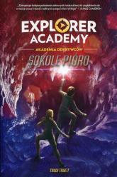 Explorer Academy Tom 2 Sokole pióro - Trudi Trueit | mała okładka