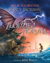 Percy Jackson i bogowie olimpijscy Złodziej Pioruna - Rick Riordan | mała okładka