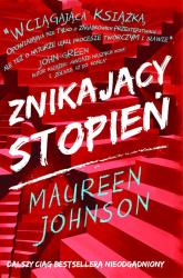 Znikający stopień - Maureen Johnson | mała okładka