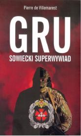 GRU sowiecki superwywiad - Pierre Villemarest | mała okładka
