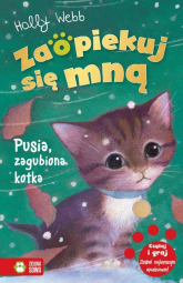Zaopiekuj się mną Pusia zagubiona kotka - Holly Webb | mała okładka