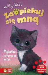 Zaopiekuj się mną Mgiełka porzucona kotka - Holly Webb | mała okładka