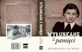 Wyłuskane z pamięci Wspomnienia z lat wojny - Roma Boniecka | mała okładka