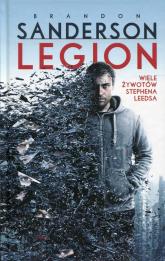Legion Wiele żywotów Stephena Leedsa - Brandon Sanderson | mała okładka