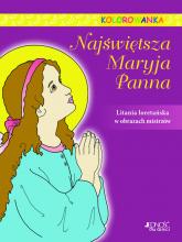 Najświętsza Maryja Panna Kolorowanka -    mała okładka
