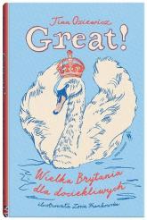 Great Wielka Brytania dla dociekliwych - Oziewicz | mała okładka