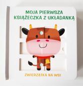Moja pierwsza książeczka z układanką - zwierzątka na wsi -  | mała okładka