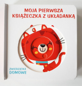 Moja pierwsza książeczka z układanką - zwierzęta domowe -  | mała okładka