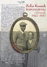 Wspomnienia z Kornwalii 1947-1957 - Zofia Kossak   mała okładka