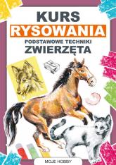 Kurs rysowania Podstawowe techniki Zwierzęta - Mateusz Jagielski | mała okładka
