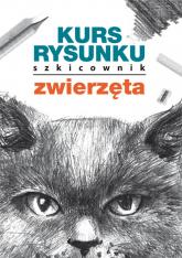 Kurs rysunku Szkicownik Zwierzęta - Mateusz Jagielski | mała okładka