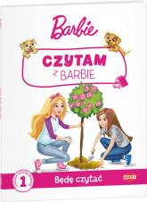Czytam z Barbie Będę czytać PCG-1101 -  | mała okładka