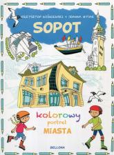 Sopot kolorowy portret miasta - Krzysztof Wiśniewski | mała okładka