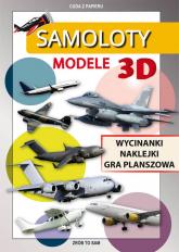 Samoloty Modele 3D Wycinanki, naklejki, gra planszowa. Cuda z papieru - Krzysztof Tonder | mała okładka