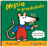 Mysia w przedszkolu - Lucy Cousins | mała okładka