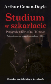 Studium w szkarłacie Przygody Sherlocka Holmesa - Arthur Conan-Doyle | mała okładka