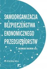 Samoorganizacja bezpieczeństwa ekonomicznego przedsiębiorstw -  | mała okładka