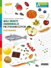 Mój zeszyt obserwacji przyrodniczych Pożywienie - Francois Lasserre | mała okładka