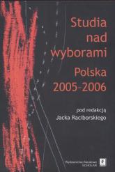 Studia nad wyborami Polska 2005 - 2006 -  | mała okładka