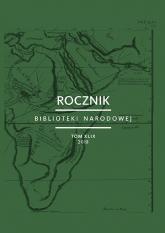 Rocznik Biblioteki Narodowej Tom XLIX -  | mała okładka